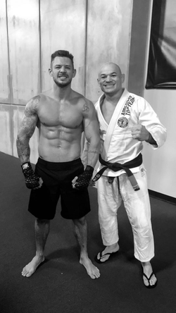 Kaio Goncalves training with former UFC Champion
