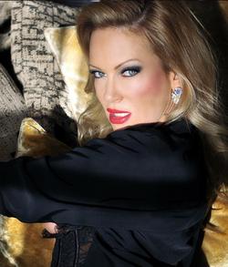 Glamour photo of Barbara Moore.