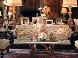 Barbara Ann Moore inside ofDonald Trump's Mar-A-Lago estate.