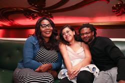 Ebony Harper with friends [4]