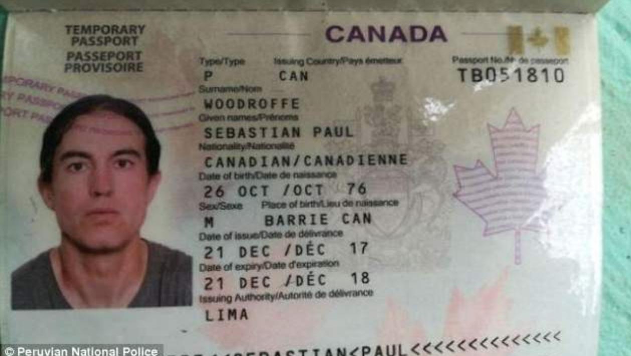Sebastian Woodroffes Passport