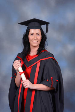 University graduation photo of Shauna Cleary [4]​