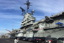 USS Hornet Museum                              ​, where it took place