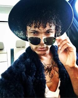 Rovier Carrington wearing sunglasses​  [7]​