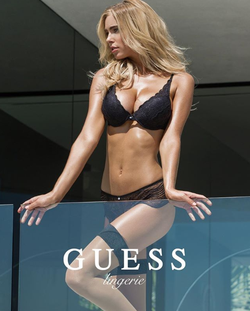Elizabeth Turner in a photo shoot for Guess [5]​