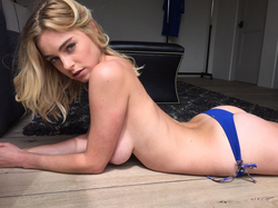 Elizabeth Turner lying down [15]​