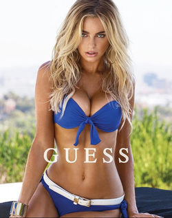 Elizabeth Turner in a Guess photoshoot [5]​