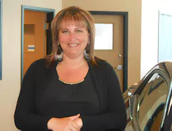 Photo of Kelly Pocha from the Cranbrook Dodge website