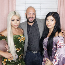 Pictured with Eden Estrada and White