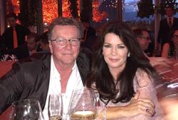 Mark Vanderpump with his sister,Lisa Vanderpump.
