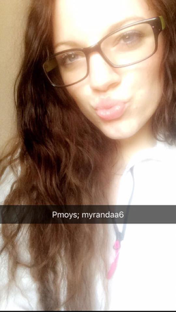Selfie of Myranda Finley with glasses