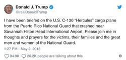 President Trump's response