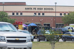 Photo of the scene of the shooting                               Santa Fe High School Shooting (2018)                              ​                                                                  [3]                                                               ​