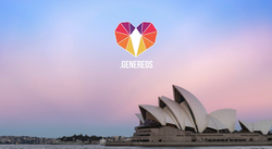 Another logo of                               Genereos.