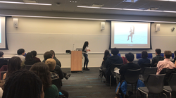 Dee Akilli at Microsoft Women in Games Event March 2018