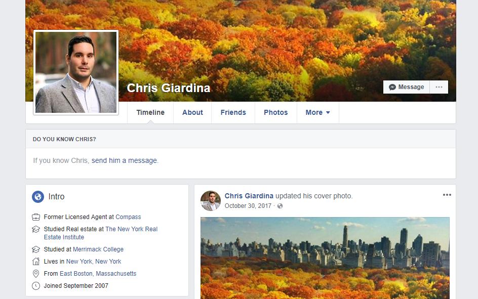 Chris Giardina | Wiki & Bio | Everipedia
