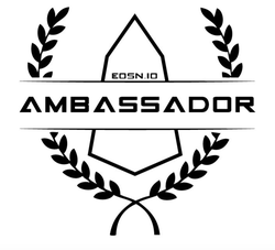 Image of                               EOS Nation                              as the Ambassador of EOS.