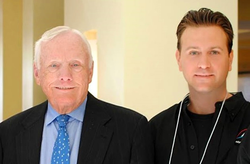 With                               Neil Armstrong                              ​, NASA astronaut, Apollo 11 Moonwalker, first man on the Moon, at the Next-Generation Suborbital Spaceflight (NSRC) Conference in 2012