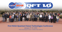 Inaugural NASA Quantum Future Technologies Conference, Jan 2012