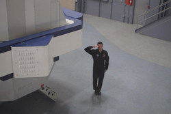 High G centrifuge training at National Aerospace Training and Research (NASTAR) Center