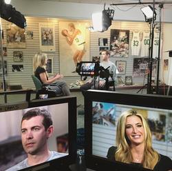 Cynthia Frelund interviewing                               Brad Stevens                                                                                                [9]                                                               
