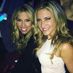 Photo of Cynthia Frelund with a friend​ [9]​