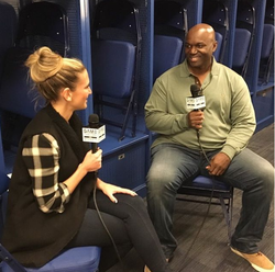 Cynthia Frelund interviewing                                   Todd Bowles                                                                                                            [9]                                                                       