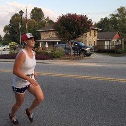 Kayla Sprinkles running [4]