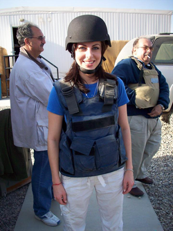 Photo of Morgan Ortagus in Baghdad, Iraq [25]​