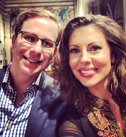 Morgan Ortagus and her husband Jonathan Weinberger [25]​