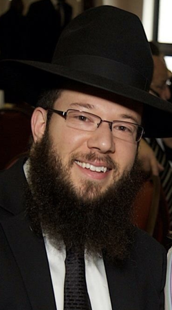 Rabbi Mike Moskowitz in earlier days.