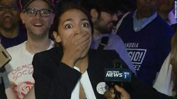 Alexandria after finding out she won the primary