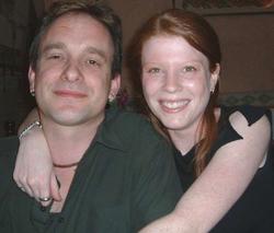 Pete Jones and Angel Mawlabaux - founders of Planet Angel