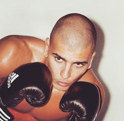 Younes Bendjima in a boxing pose [11]