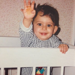Photo of Younes Bendjima as a baby [11]