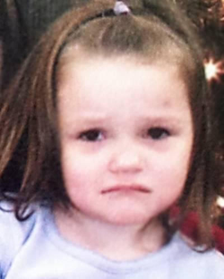 Photo of the victim, 3-year-old, Aliayah Lunsford [2]