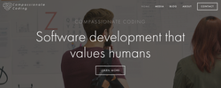 Compassionate coding website - source: compassionatecoding.com