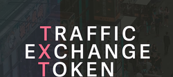 The image of                               TXT Traffic Exchange Token.