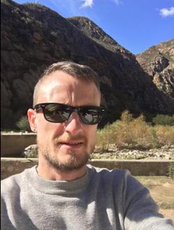 Selfie of                               Jared Rossouw.