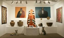 Tucson Desert Art Museum interior.