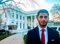 Ammar Campa-Najjar serving in the White House​ [3]​