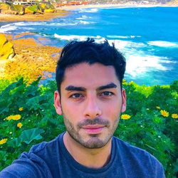 Ammar Campa-Najjar appreciating the natural beauty of California's 50th congressional district. [22]​