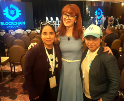 CyberCode twins with  Naomi Brockwell   (center)