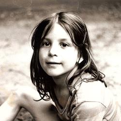 Photo of                               Pilar Stella Ingargiola                              when she was a child.