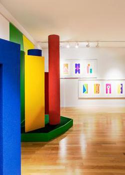 Palos Verdes Art Center / interior.