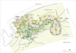 San Gabriel River Discovery Center / map.