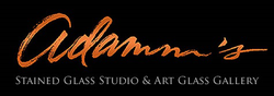 Adamm's Stained Glass & Gallery / logo