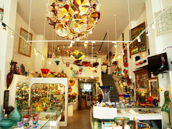 Adamm's Stained Glass & Gallery / display.