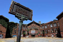 Photo of Carr School where the assaults took place                                                                  [3]                                                               ​