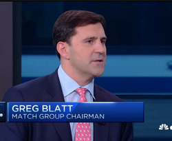 Greg Blatt on CNBC when he was the Chairman of Match Group [11]